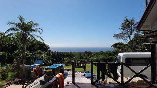 青空続き日差しも強く日中は暑くもなっていた10/11の八丈島